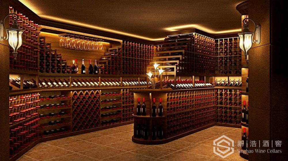 星河丹堤别墅酒窖