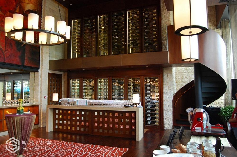 实木酒柜1