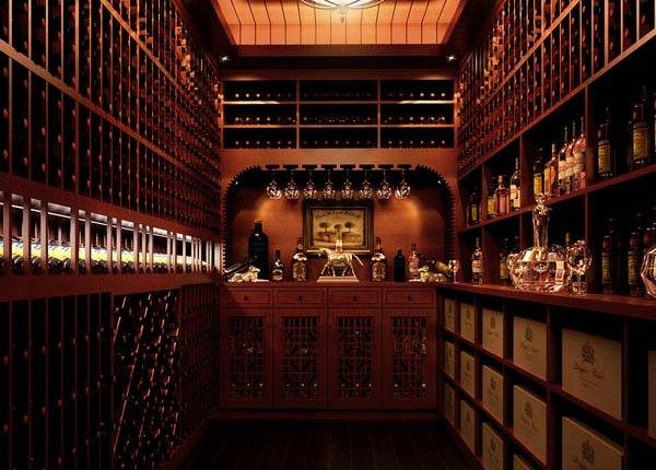 香蜜湖9号大院私家豪宅酒窖设计