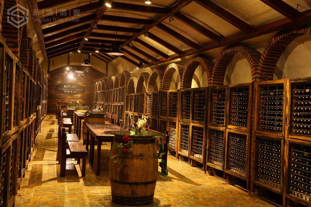 鼎派国际葡萄酒酒窖